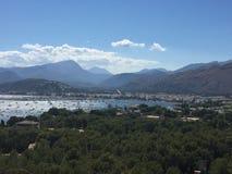 Góry morze Obraz Stock