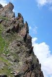 góry na krymie nieba rock wiosna Zdjęcia Royalty Free