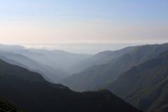 Góry na madery wyspie Zdjęcia Royalty Free