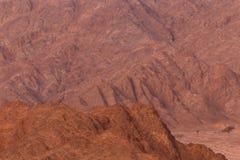 Góry na półwysep synaj Zdjęcie Stock