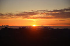 góry na wschód słońca zdjęcie royalty free