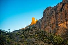 Góry na zachodniej części Granu Canaria wyspa Obraz Royalty Free