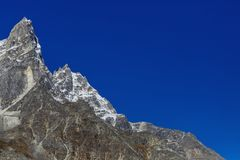 góry Nepal Obrazy Stock