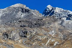 góry Nepal Zdjęcia Stock