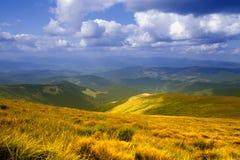 góry niebo Zdjęcie Royalty Free