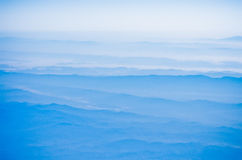 góry niebo obrazy stock