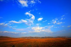 góry niebo Zdjęcia Stock