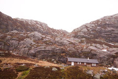 góry norweskie Obrazy Royalty Free
