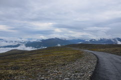 góry norweskie Obraz Stock