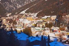 Góry ośrodek narciarski Zły Gastein Austria - zdjęcie royalty free