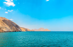 Góry, ocean indyjski Obrazy Stock