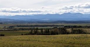 Góry od daleko Obrazy Stock