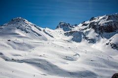 Góry od formigal Fotografia Royalty Free