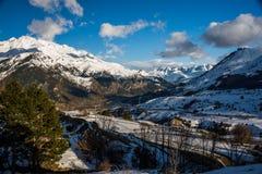 Góry od formigal Fotografia Stock
