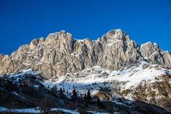Góry od formigal Obrazy Stock