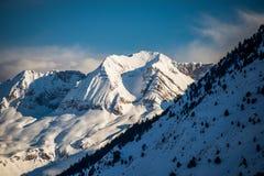 Góry od formigal Zdjęcie Stock
