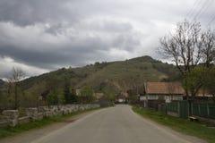 Góry od Sacuieu, Rumunia Obrazy Royalty Free