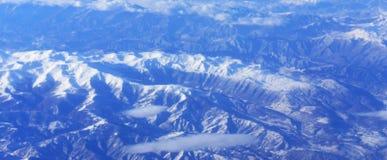 Góry od wierzchołka obrazy stock