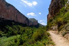 Góry od wysokiego punktu Fotografia Royalty Free
