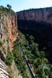 Góry od wysokiego punktu Fotografia Stock