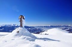 góry osiągają szczyt Peter sureanu Romania s Obraz Royalty Free