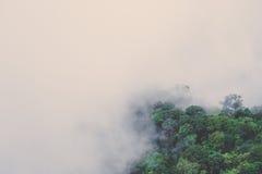 Góry Otaczać mgłą Fotografia Royalty Free
