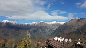 Góry Północny Kaukaz zdjęcia royalty free