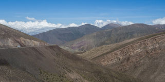 Góry północny zachód Argentyna fotografia royalty free