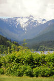 Góry Północny Vancouver fotografia stock