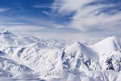 góry palandoken panoramę Zdjęcia Royalty Free