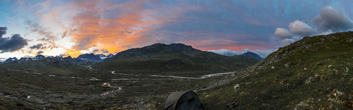 Góry panorama Obraz Royalty Free