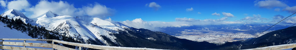 Góry panorama Fotografia Royalty Free