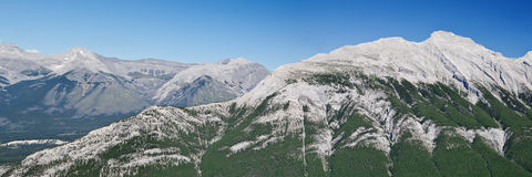 góry panoramy rundle Zdjęcia Royalty Free