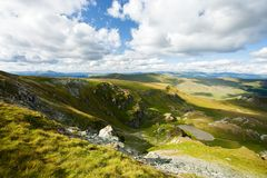 góry parang Romania obrazy royalty free