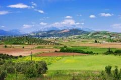 góry parnassus doliny widok Zdjęcia Royalty Free
