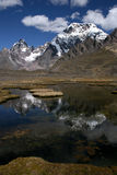 góry Peru Zdjęcie Stock