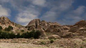Góry Petra, Jordania, Środkowy Wschód zbiory