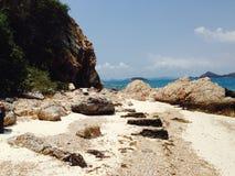 Góry Piękny morze zdjęcia stock