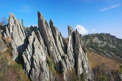 Góry Południowi Urals obraz royalty free