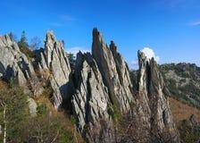 Góry Południowi Urals zdjęcie royalty free