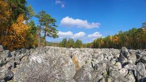 Góry Południowi Urals zdjęcia royalty free