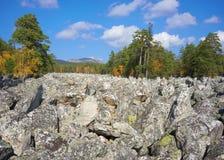 Góry Południowi Urals Rosja obraz stock