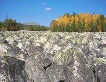 Góry Południowi Urals Rosja obrazy royalty free