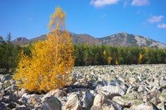 Góry Południowi Urals Rosja obrazy stock