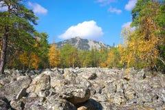 Góry Południowi Urals Rosja fotografia royalty free