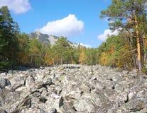 Góry Południowi Urals Rosja zdjęcia stock