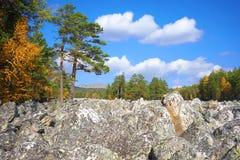 Góry Południowi Urals Rosja obraz royalty free