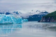 Góry Poza lodowiec Zdjęcie Royalty Free