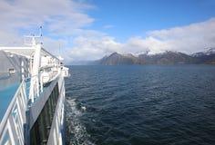 Góry przy Beagle kanałem w Patagonia Chile zdjęcie royalty free