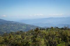 Góry przy Kolumbia zdjęcia royalty free